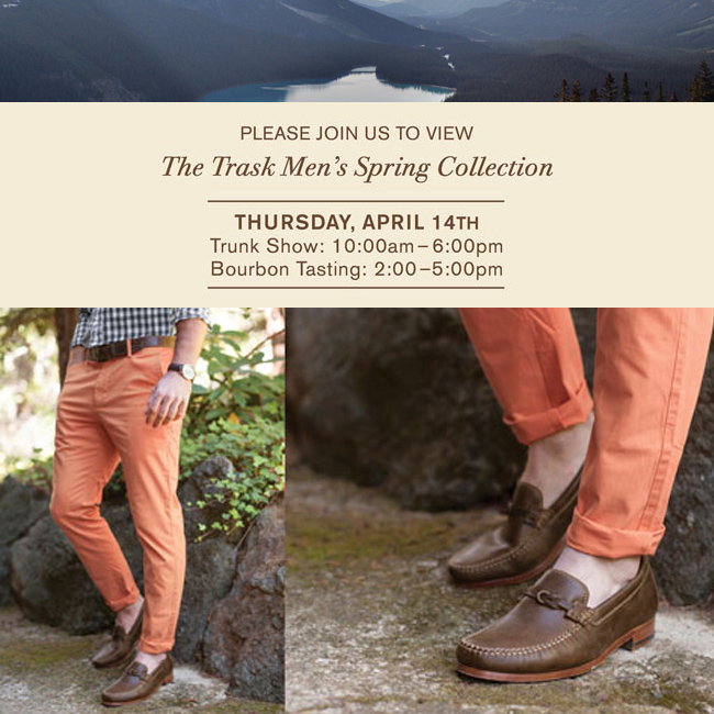 Trask Men's Spring Collection