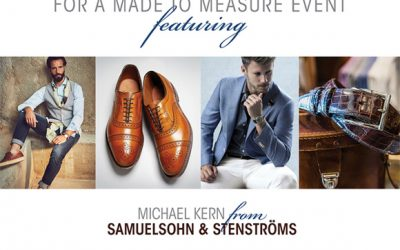 Please Join Us for a Made to Measure Event!
