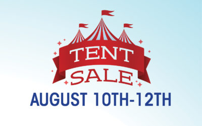 Great Scott's Famous Tent Sale is Back!