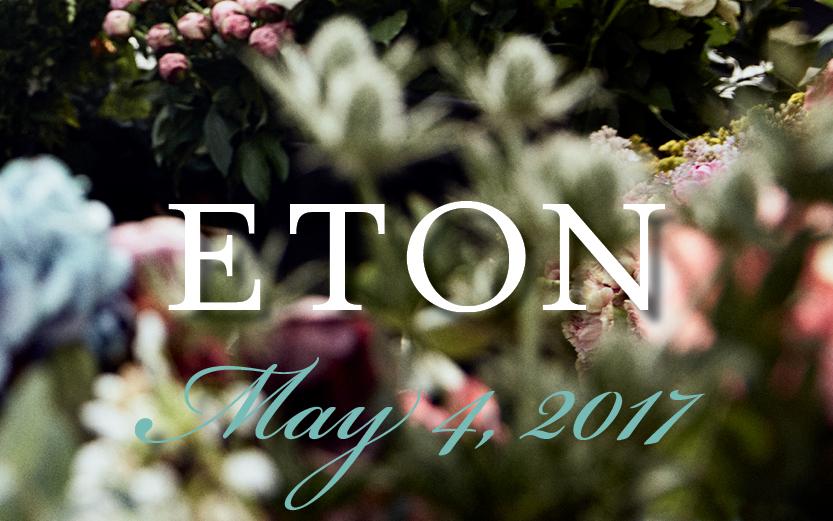 SAVE THE DATE | Eton