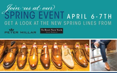 Join us for our Spring Event