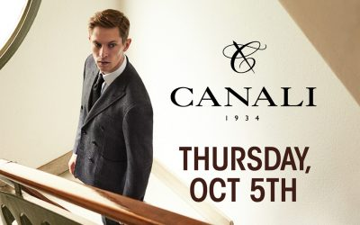 Made To Measure Event featuring Canali