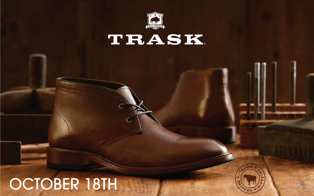 Please join us to preview The Trask Fall 2018 Collection