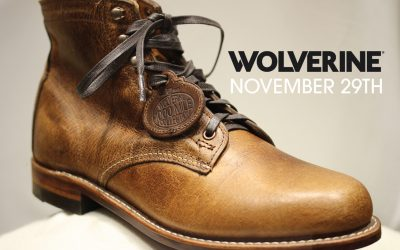 Wolverine Trunk Show – One Day Only!