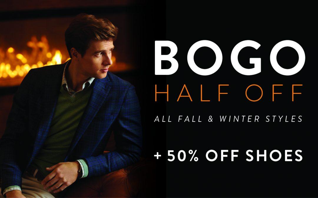 BOGO Half Off