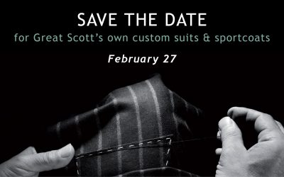 Custom Suits and Sportcoats Trunk Show