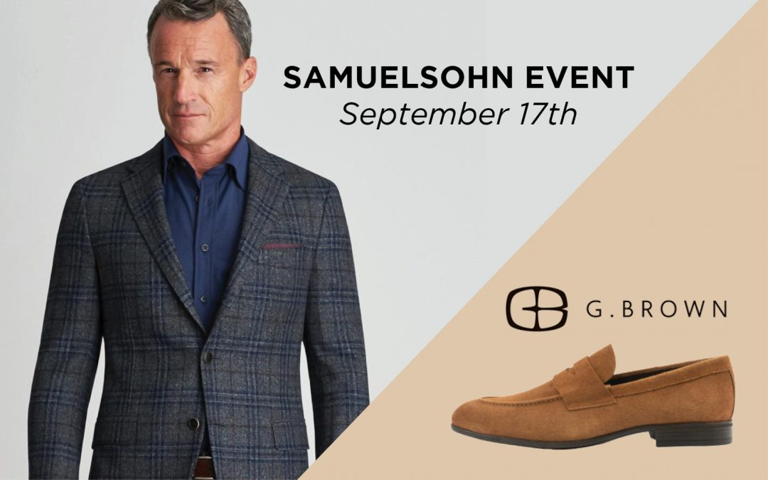 Samuelsohn and G. Brown Event