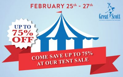 Our Famous Tent Sale is Back!