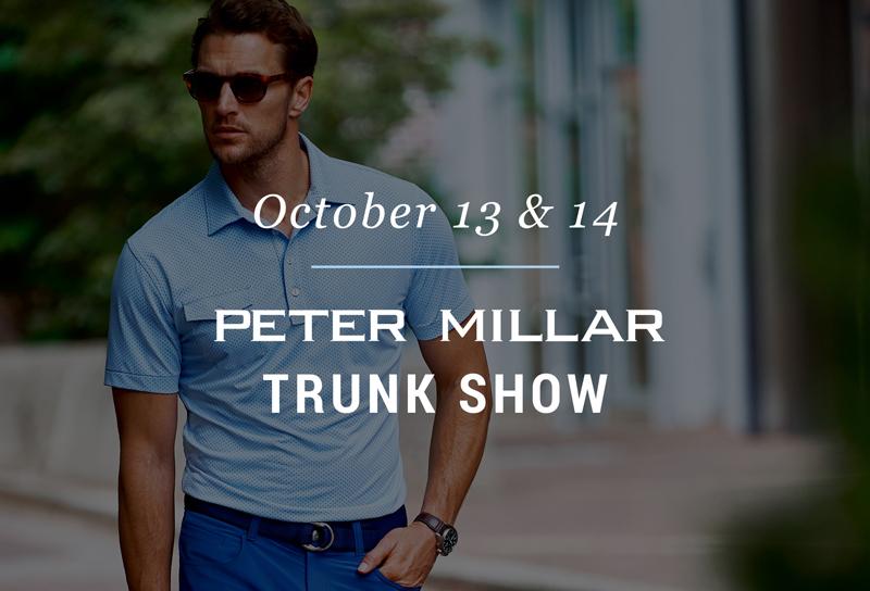 Peter Millar Trunk Show